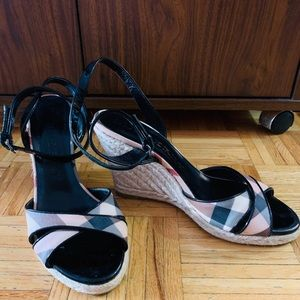 Authentic Burberry sandals